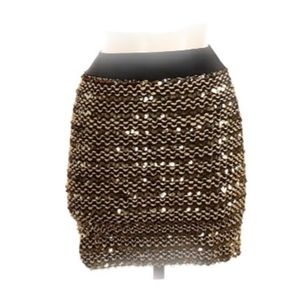 ⬇️CLEAROUT!⬇️M USA Sequin Mini Skirt
